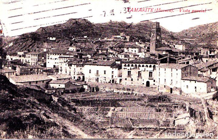 TAMARITE (HUESCA) - VISTA PARCIAL (Postales - España - Aragón Moderna (desde 1.940))