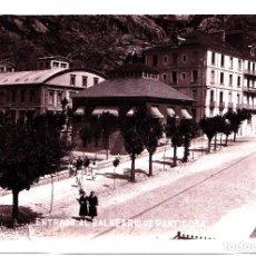 Postales: PANTICOSA (HUESCA) - ENTRADA AL BALNEARIO. Lote 287183793