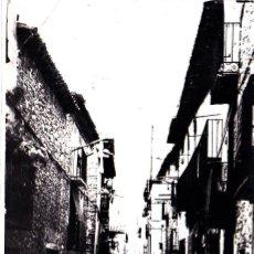 Postales: CAMPO (HUESCA) - CALLE SAN ANTONIO. Lote 287183933