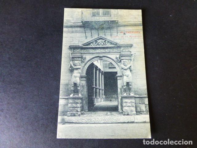ZARAGOZA PUERTA DE LA AUDIENCIA (Postales - España - Aragón Antigua (hasta 1939))