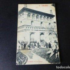 Postales: ZARAGOZA EXTERIOR DE LA LONJA. Lote 287241313