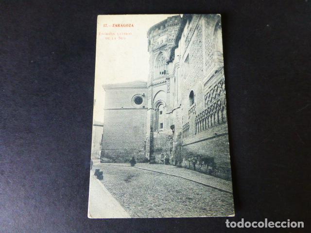 ZARAGOZA LATERAL DE LA SEO (Postales - España - Aragón Antigua (hasta 1939))
