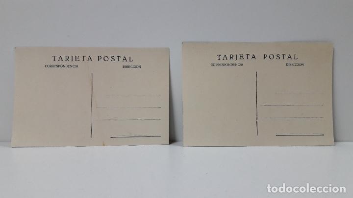 Postales: DOS TARJETAS POSTALES . HUESCA VISTA GENERAL - CASTILLO LOARRE . SIN CIRCULAR - Foto 2 - 287441833