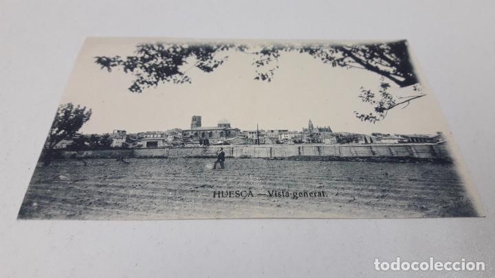 Postales: DOS TARJETAS POSTALES . HUESCA VISTA GENERAL - CASTILLO LOARRE . SIN CIRCULAR - Foto 3 - 287441833