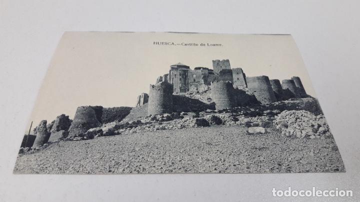 Postales: DOS TARJETAS POSTALES . HUESCA VISTA GENERAL - CASTILLO LOARRE . SIN CIRCULAR - Foto 4 - 287441833