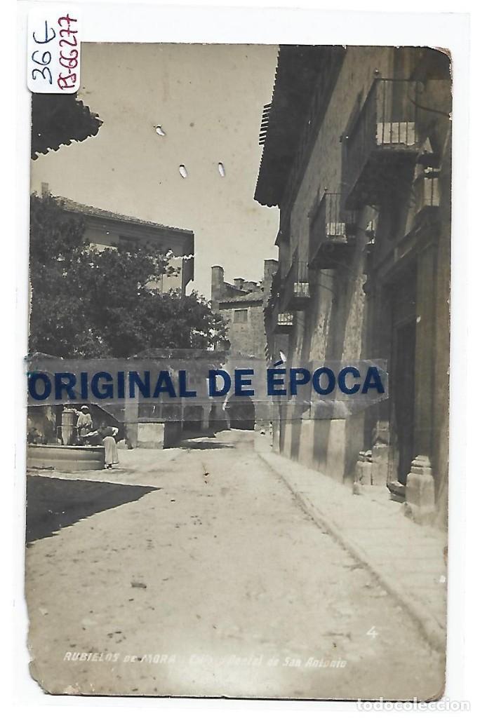 (PS-66277)POSTAL FOTOGRAFICA DE RUBIELOS DE MORA-CALLE DEL PORTAL DE SAN ANTONIO (Postales - España - Aragón Antigua (hasta 1939))