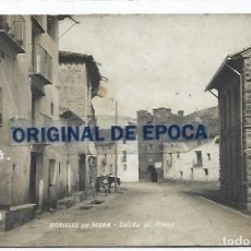 Postales: (PS-66278)POSTAL FOTOGRAFICA DE RUBIELOS DE MORA-SALIDA AL PLANO. Lote 287492288