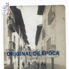 Postales: (PS-66282)POSTAL FOTOGRAFICA DE RUBIELOS DE MORA-CALLE DEL OBISPO SANCHEZ. Lote 287492998