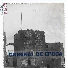 Postais: (PS-66299)POSTAL DE MONZON DEL RIO CINCA-PLAZA DE ARMAS DEL HISTORICO CASTILLO.EDICIONES VICTORIA. Lote 287740848