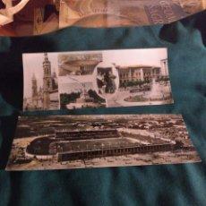 Cartoline: ZARAGOZA 2 POSTALES ESCRITAS. Lote 287962893