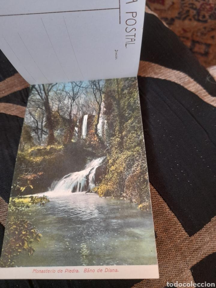 Postales: Bloc con 19 postales, Monasterio de Piedra, M,Arribas - Foto 3 - 288180343