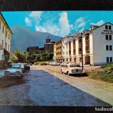 Postales: TORLA - HUESCA - HOTELES - BELLA VISTA Y BUJARUELO. Lote 288449648