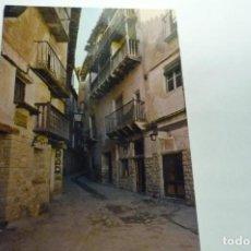 Postales: POSTAL ALBARRACIN -CALLE TIPICA PORTAL MOLINA CM. Lote 288534648