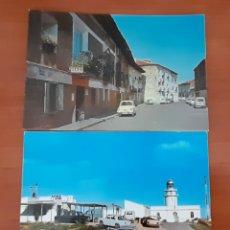 Postales: POSTALES DE COCHES ANTIGUAS SIN CIRCULAR. VER FOTOS Y DESCRIPCIÓN. Lote 288648718