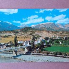 Postales: POSTAL 1 SICILIA. PIRINEO ARAGONÉS. ENTRADA PARQUE DE AÑISCLO. ESCALONA. HUESCA. 1974. SIN CIRCULAR.. Lote 289478508