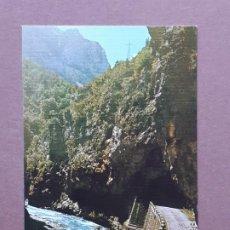 Postales: POSTAL 45 SICILIA. RÍO CINCA. TÚNEL DE LAS DEVOTAS. BIELSA. HUESCA. 1977. SIN CIRCULAR.. Lote 289487188