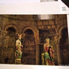 Postales: POSTAL LOARRE IGLESIA I TALLAS. Lote 289493588