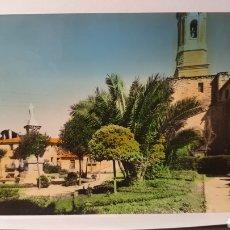 Postales: CASPE 7 PLAZA Y JARDINES CORAZÓN DE JESÚS/ ORIGINAL DE ÉPOCA/ CIRCULADA/ ( REF.A.3). Lote 289520043