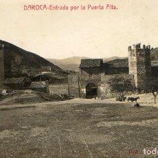Postales: POSTAL ANTIGUA-DAROCA ENTRADA POR LA PUERTA ALTA - FOTO MARCIAL. Lote 290114118