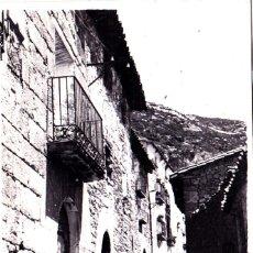 Postales: SANTA EULALIA DE LA PEÑA (HUESCA) - CALLE DEL PUEBLO. Lote 292233968