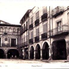 Postales: ESTADILLA (HUESCA) - PLAZA MAYOR. Lote 292247168