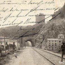 Postales: POSTAL ANTIGUA FOTOGRAFICA HALHAMA DE ARAGON -LA SERRATILLA-CIRCULADA Y DIVIDIDA. Lote 292379843