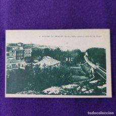 Postales: POSTAL DE ALHAMA DE ARAGON. Nº12 BARRIO Y BAÑOS NUEVOS Y VIEJOS DE SAN ROQUE.. Lote 293764078