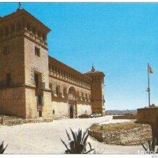 Postales: *** Z1033 - POSTAL - ALCAÑIZ - TERUEL - CASTILLO DE LOS CALATRAVOS - HOSTERIA NACIONAL DE LA CONCORD. Lote 293839418