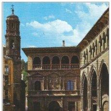 Postales: *** Z1011 - POSTAL - ALCAÑIZ - TERUEL - PALACIO MUNICIPAL Y LONJA. Lote 293839758