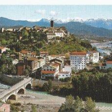 Postales: POSTAL DE AINSA(HUESCA) SIN CIRCULAR- EDICIONES SICILIA Nº 1-VISTA GENERAL Y CONFLUENCIA DE LOS RIOS. Lote 293895513
