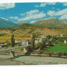 Postales: POSTAL DE ESCALONA (HUESCA) SIN CIRCULAR- EDICIONES SICILIA Nº 1- ENTRADA AL PARQUE Y VISTA PARCIAL. Lote 294063313