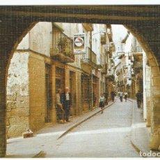 Postales: POSTAL DE GRAUS (HUESCA ) SIN CIRCULAR- PORTAL DE LINES Y CALLE MUR Y MUR -EDICIONES SICILIA. Lote 294075623