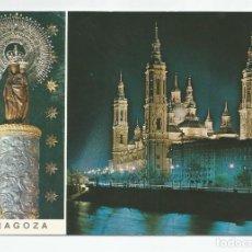 Postales: POSTAL ANTIGUA DE LA SEO DE ZARAGOZA - EDICIONES VISTABELLA Nº 3- PUBLICITARIA -AÑO 1971. Lote 294439778