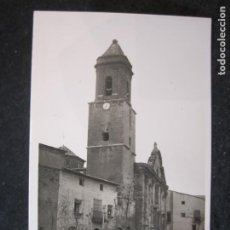Postales: TORRENTE DE CINCA (HUESCA)-PLAZA DE LA IGLESIA-FOTOGRAFICA-POSTAL ANTIGUA-(85.118). Lote 294964558