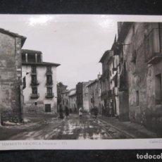 Postales: TORRENTE DE CINCA (HUESCA)-CALLE CARRETERA-FOTOGRAFICA-POSTAL ANTIGUA-(85.119). Lote 294964608