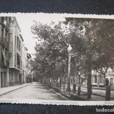 Postales: BARBASTRO-PASEO DEL GENERALISIMO FRANCO-FOTOGRAFICA ARRIBAS-POSTAL ANTIGUA-(85.128). Lote 294965398