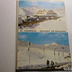 Postales: POSTAL SALLENT DE GALLEGO-FORMIGAL CIRCULADA. Lote 295516468