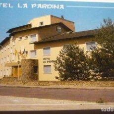 Postales: POSTAL SABIÑANIGO-HOTEL PARDINA. Lote 295518803
