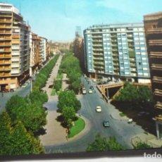 Postales: POSTAL ZARAGOZA,-Pº CALVO SOTELO -CIRCULADA. Lote 295520108