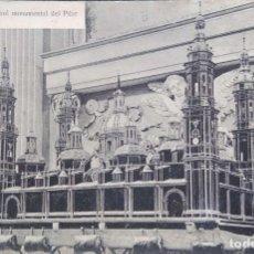Postales: ZARAGOZA. FAROL MONUMENTAL DEL PILAR. EL CICLÓN. NUEVA. BLANCO/NEGRO. Lote 295565438