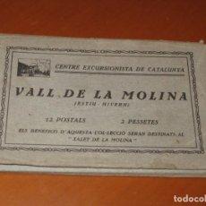 Postales: CONJUNTO DE POSTALES DE VALL DE LA MOLINA. Lote 295583278
