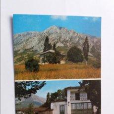 Postales: POSTAL - VILAS DEL TURBON - HUESCA - VISTAS GENERAL Y FONDA SOLANA. Lote 295646248