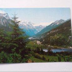 Postales: POSTAL - PIRINEO ARAGONES - BIELSA - VALLE DE PINETA - AL FONDO MACIZO DE MONTE PERDIDO. Lote 295649118