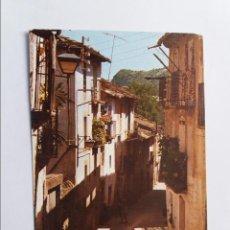 Postales: POSTAL - LA AINSA - CALLE TIPICA. Lote 295649213