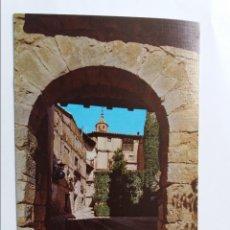 Postales: POSTAL - ALBARRACIN TERUEL - PORTAL DEL AGUA - MONUMENTO NACIONAL. Lote 295698543