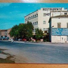 Postales: FRAGA, HUESCA. CARRETERA GENERAL MADRID-BARCELONA (ED. FITER). Lote 296576098
