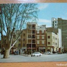 Postales: MONZÓN - AVENIDA DE LÉRIDA - JARDINES - HUESCA. Lote 296578068
