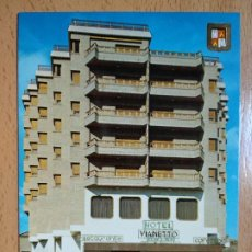 Postales: MONZÓN - HOTEL VIANETTO - HUESCA. Lote 296580298