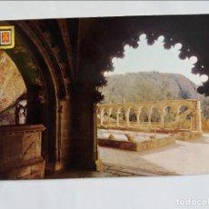 Postales: POSTAL - HUESCA - PIRINEO ARAGONÉS - SAN JUAN DE LA PEÑA. Lote 296684083