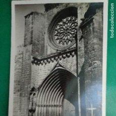 Postales: TERUEL, VALDERROBRES PUERTA DE LA IGLESIA. IMP. JOSE FLAMERICH Nº 8.. Lote 296710968